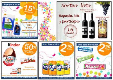 Promociones de mayo