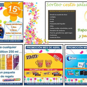 Aprovecha las mejores ofertas de abril en tus estaciones de servicio SERVIARAGÓN